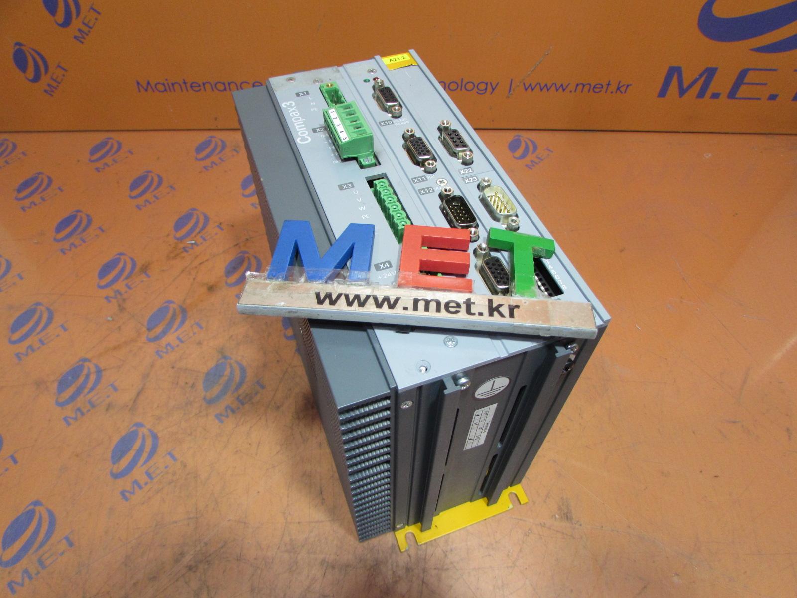 Parker C3S063V2F12 I21 T40 M00 A11 Compax3